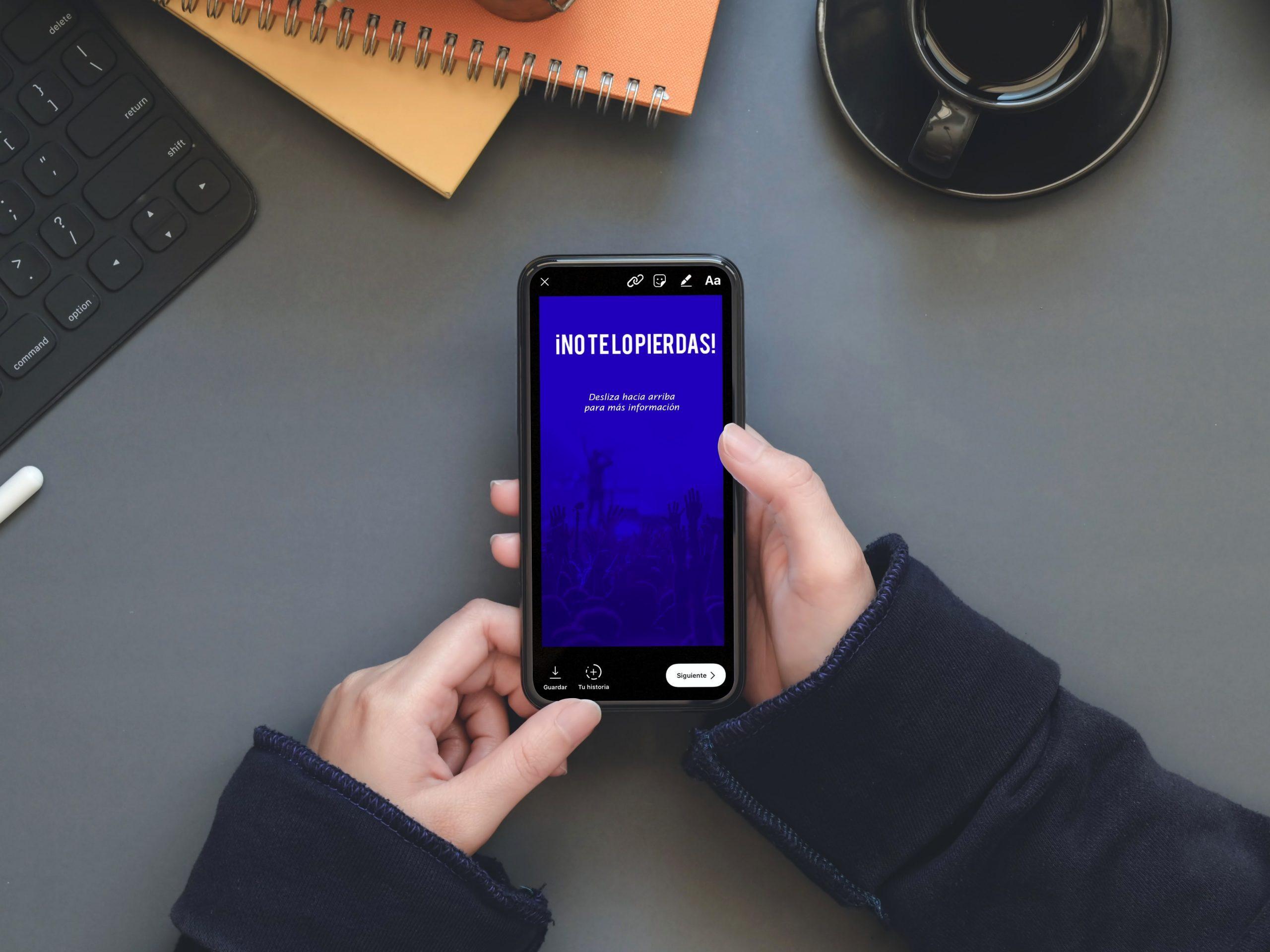 Cómo obtener la función de Swipe Up y agregar enlaces a tus historias de Instagram