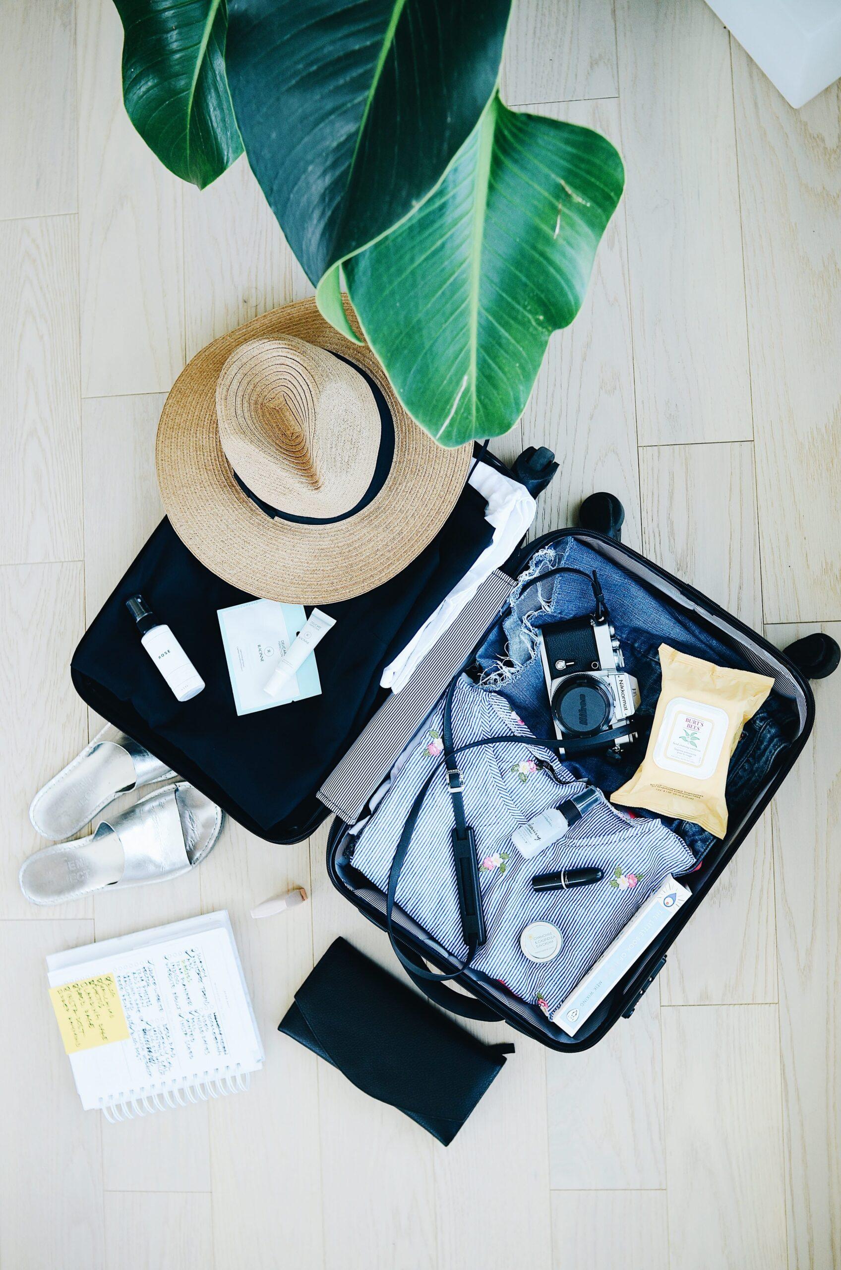 Maleta de viaje de un Travel Influencer