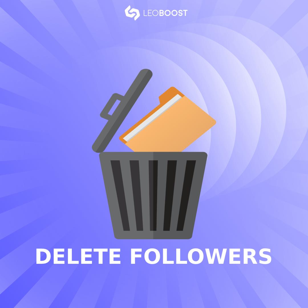 delete followers