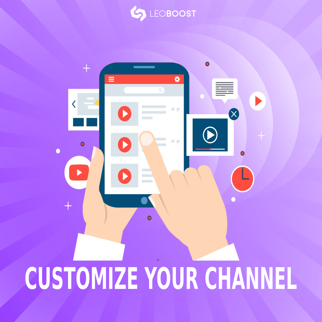 customize your channel