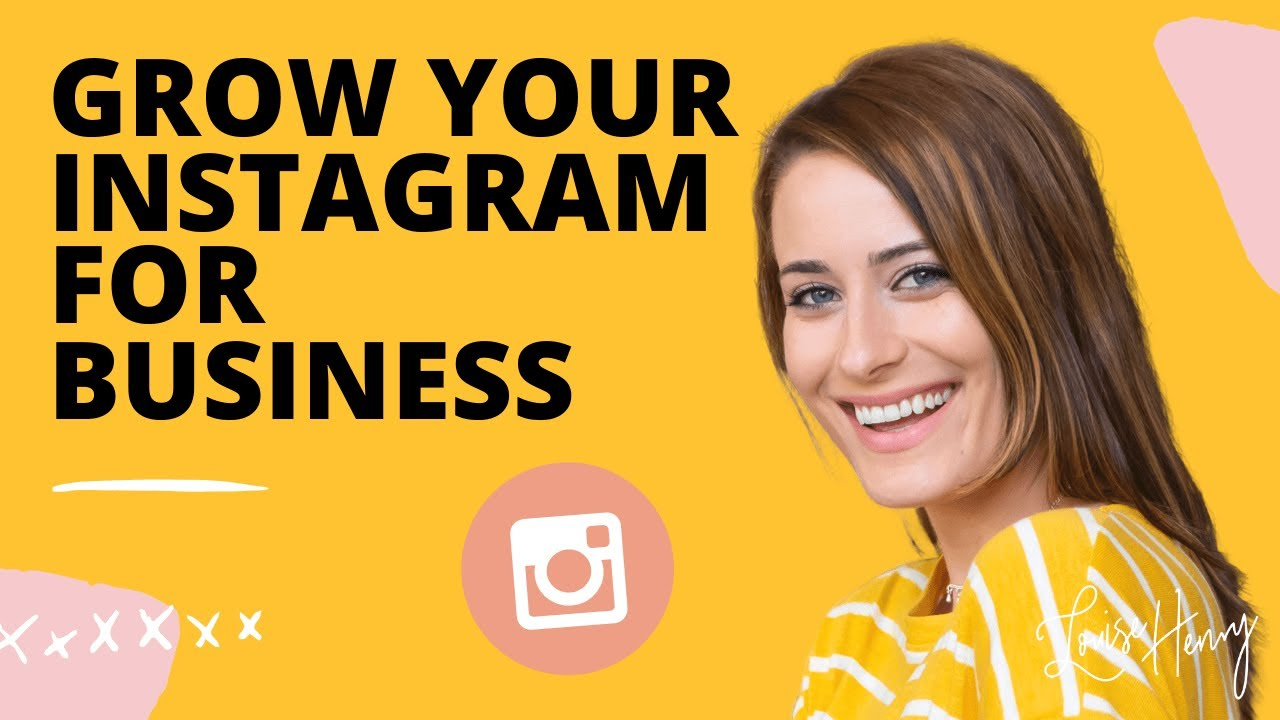 Grow Your Instagram for Business Thumbnail