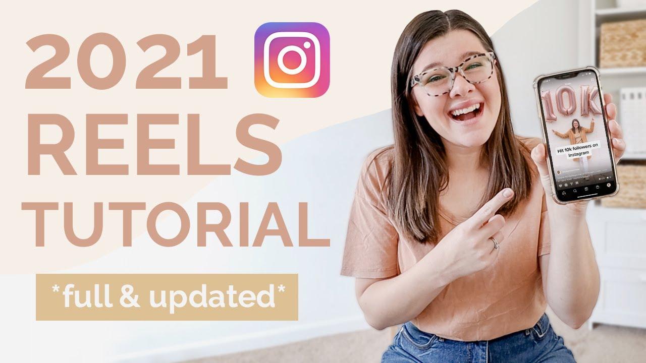 Instagram 2021 reels tutorial thumbnail