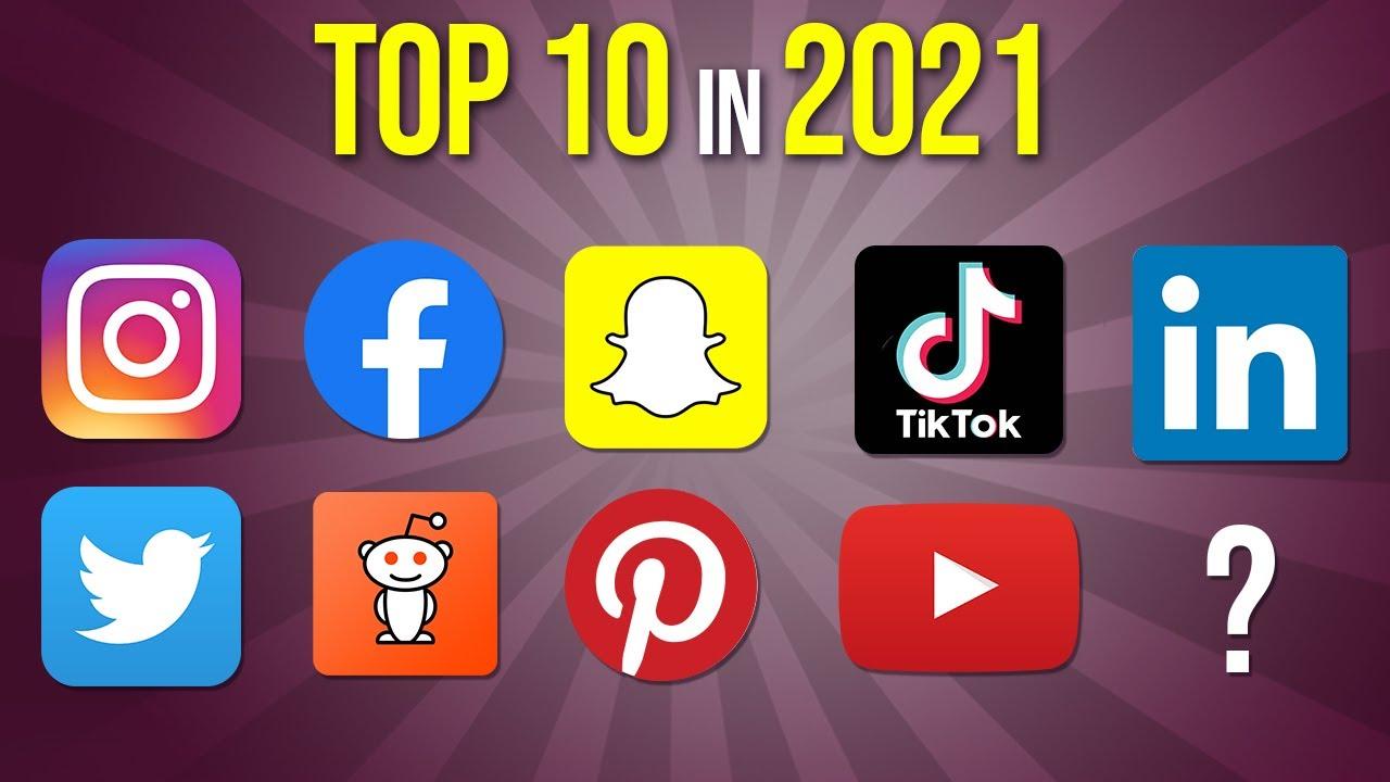 top 10 social media platforms youtube