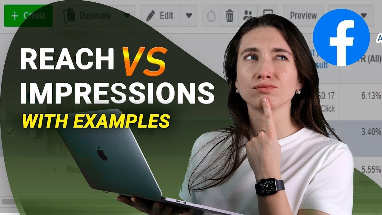 Reach vs Impressions youtube